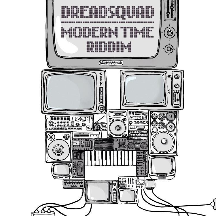 SF026 - MODERN TIME RIDDIM - COVER DIGITAL